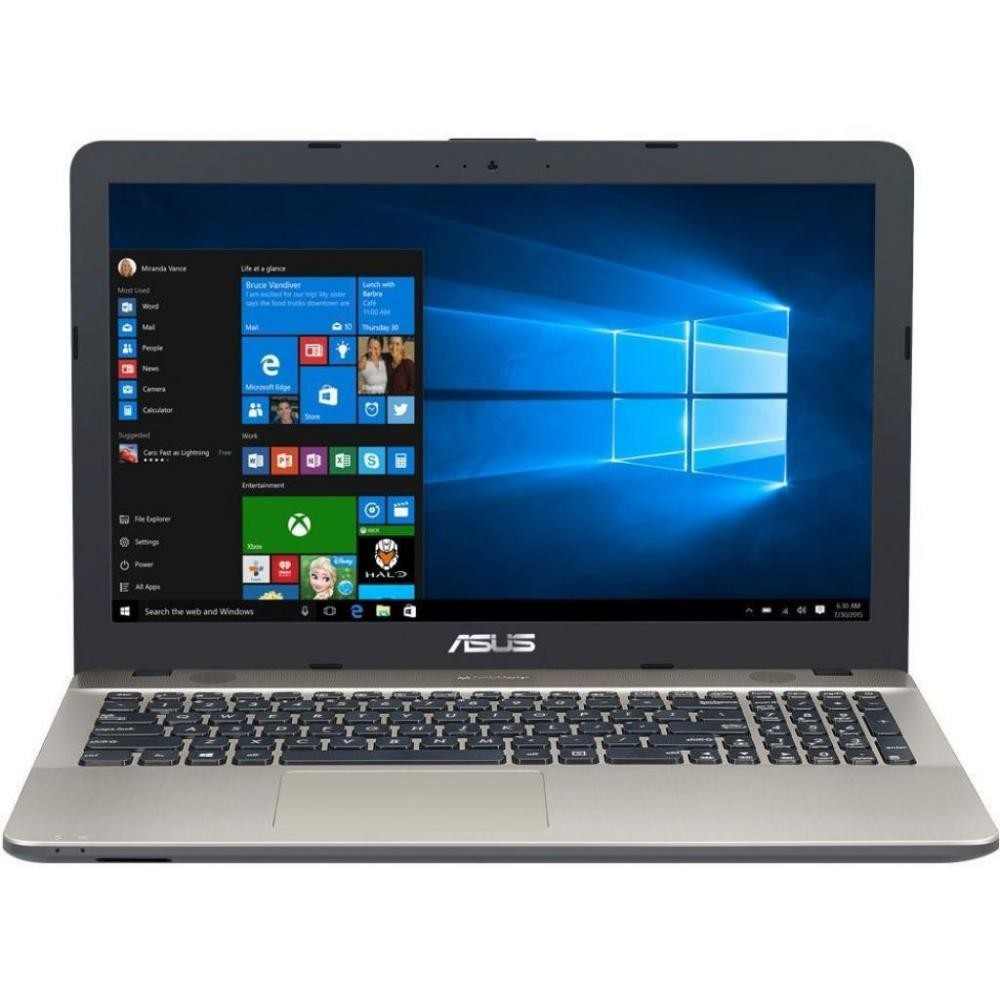 "Ноутбук Asus X541NA (X541NA-GO120 Chocolate Black), Intel Celeron Dual-Core N3350 (1.1 - 2.4GHz), 15.6"" WXGA HD (1366x768), 4Gb DDR3,500Gb SATA,Intel HD Graphics 500,No ODD,Wi-Fi,BT,HDMI,WC,Endless OS,3 cell,2.0kg,Chocolate Black"
