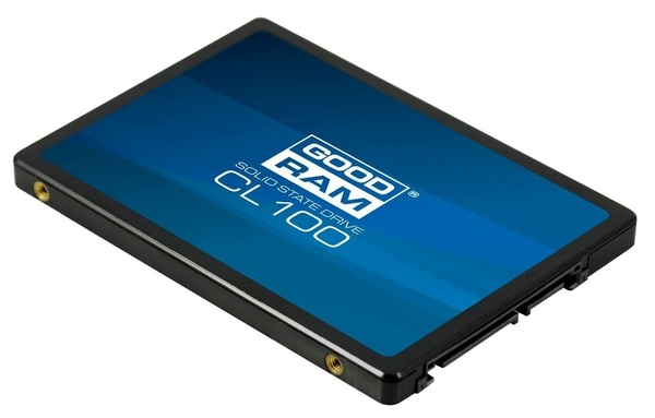 SSD-накопитель 120 Gb GoodRam CL 100 (SSDPR-CL100-120), TLC, S-ATAIII, 2.5""
