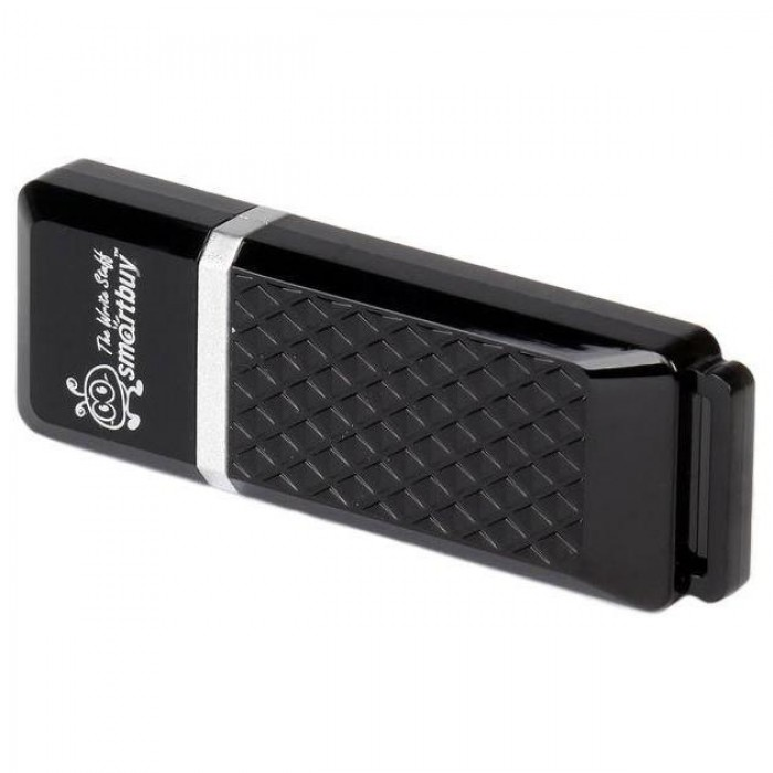 Флэш-память Smartbuy (SB32GBQZ-K), 32 Gb, Quartz series, USB 2.0, Black