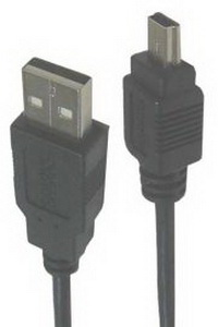 Кабель USB2.0 -> mini-USB (SN1094), 1.8m, Sparks Nickel SN1094, USB (A вилка) - mini-USB (B вилка 5-pin)