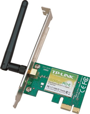 Wi-Fi адаптер TP-Link TL-WN781ND (TL-WN781ND), 150 Mbps, PCI Express