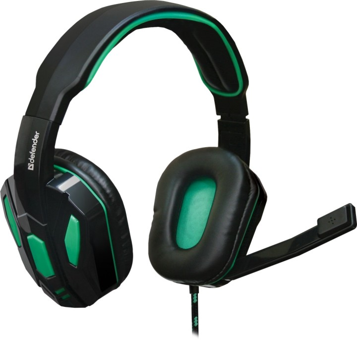 Гарнитура Defender Warhead G275 (G275), Black-Green