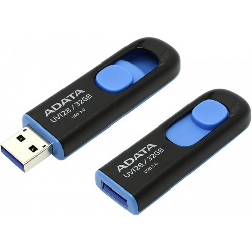 Флэш-память A-Data (AUV128-32G-RBE), 32 Gb, UV128, USB 3.1, Black