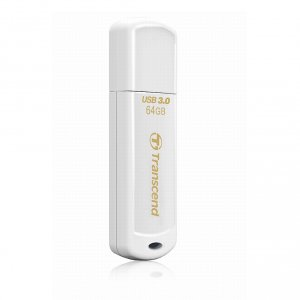 Флэш-память Transcend (TS64GJF730), 64 Gb, JetFlash 730, USB 3.0, White