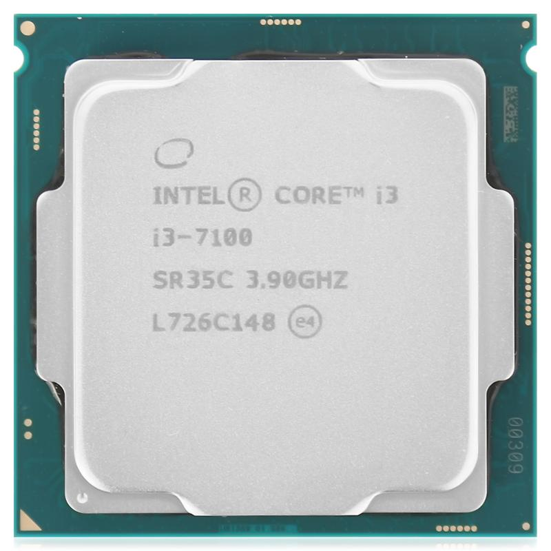 Процессор Intel Core i3-7100 (i3-7100 Tray (12*)), S1151, 3900 MHz, 3Mb, Kaby Lake-S, 51W, GPU: Intel HD Graphics 630 (350 MHz), Tray
