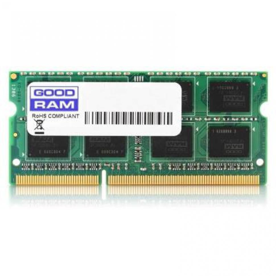 Модуль памяти DDR3 SODIMM 2 Gb PC12800 (1600MHz) GoodRam (GR1600S364L11/2G), CL 11, 1.5V